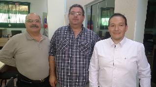 Tadeu Rezende, Kiko e José Eduardo.