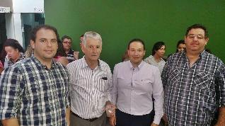 Henrique, Sr. Bernardino, José Eduardo da Silveira e Kiko.