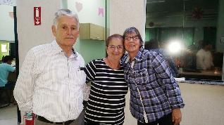 Sr. Bernardino, Dona Ezildinha e Zeza.