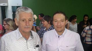 Sr. Bernardino e José Eduardo da Silveira